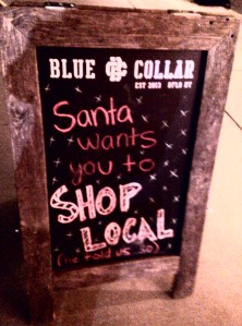 Santa wants you to shop local