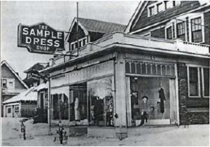 Sample Dress Shop