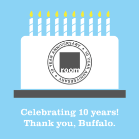 Celebrating-10-Years-room-buffalo-michael-p-design-buffalo-ny-hertel-avenue